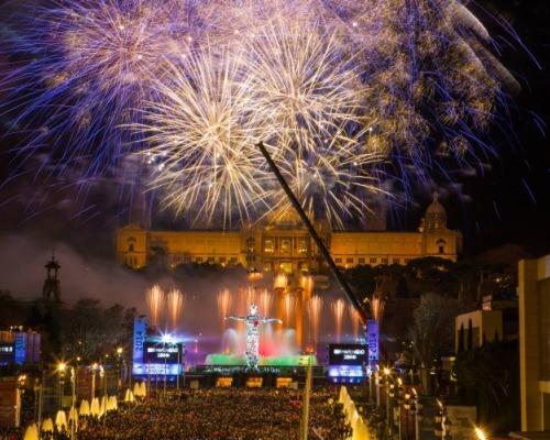 Doček Nove godine u Barceloni