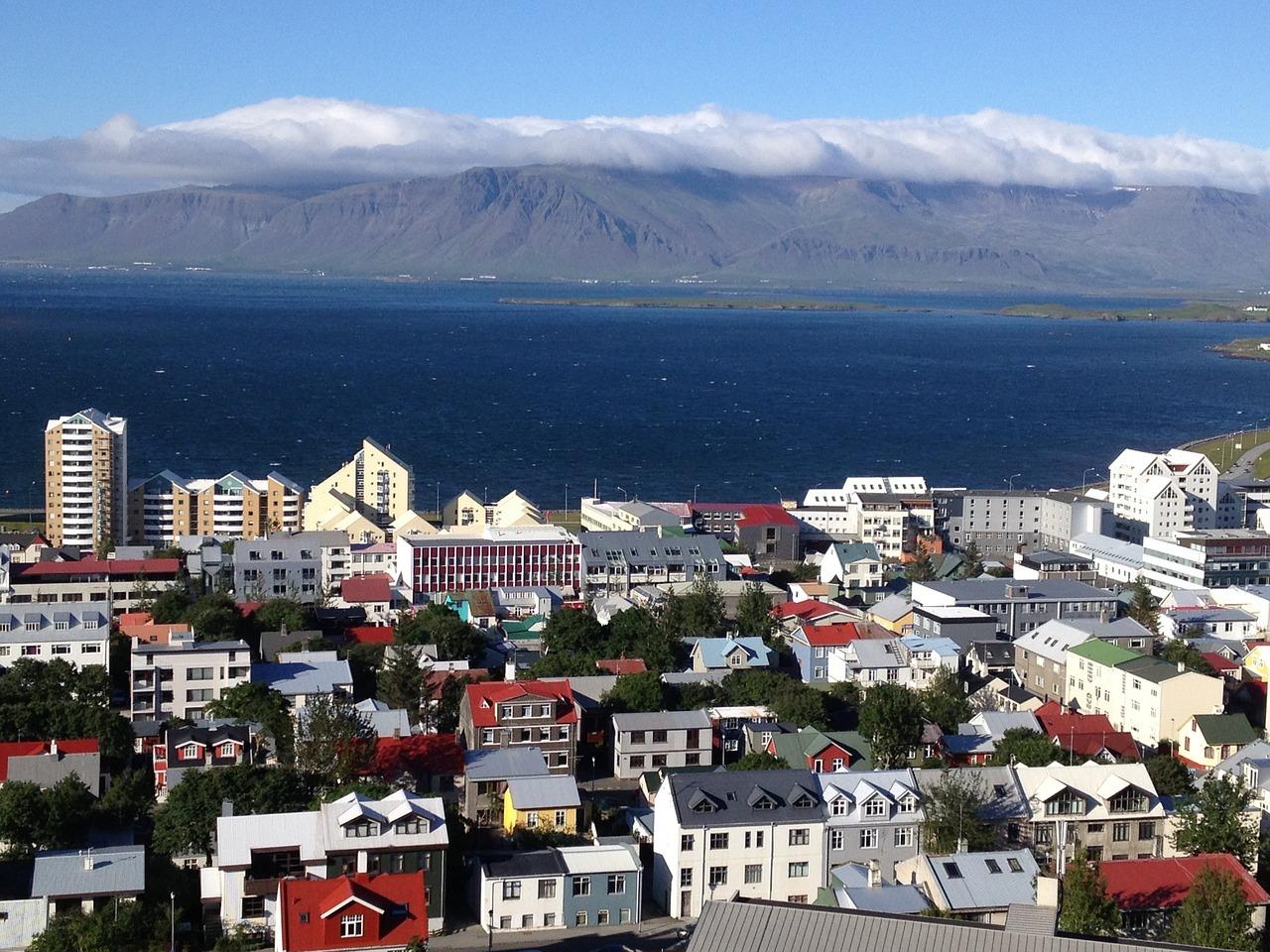 Izlazak s Islanda Reykjavik