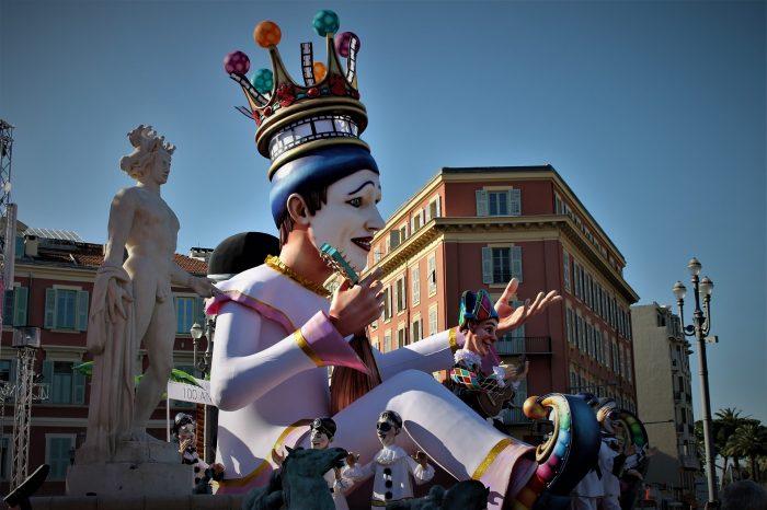 Karneval u Nici <h3 class='podnaslov' >Azurna obala</h3>