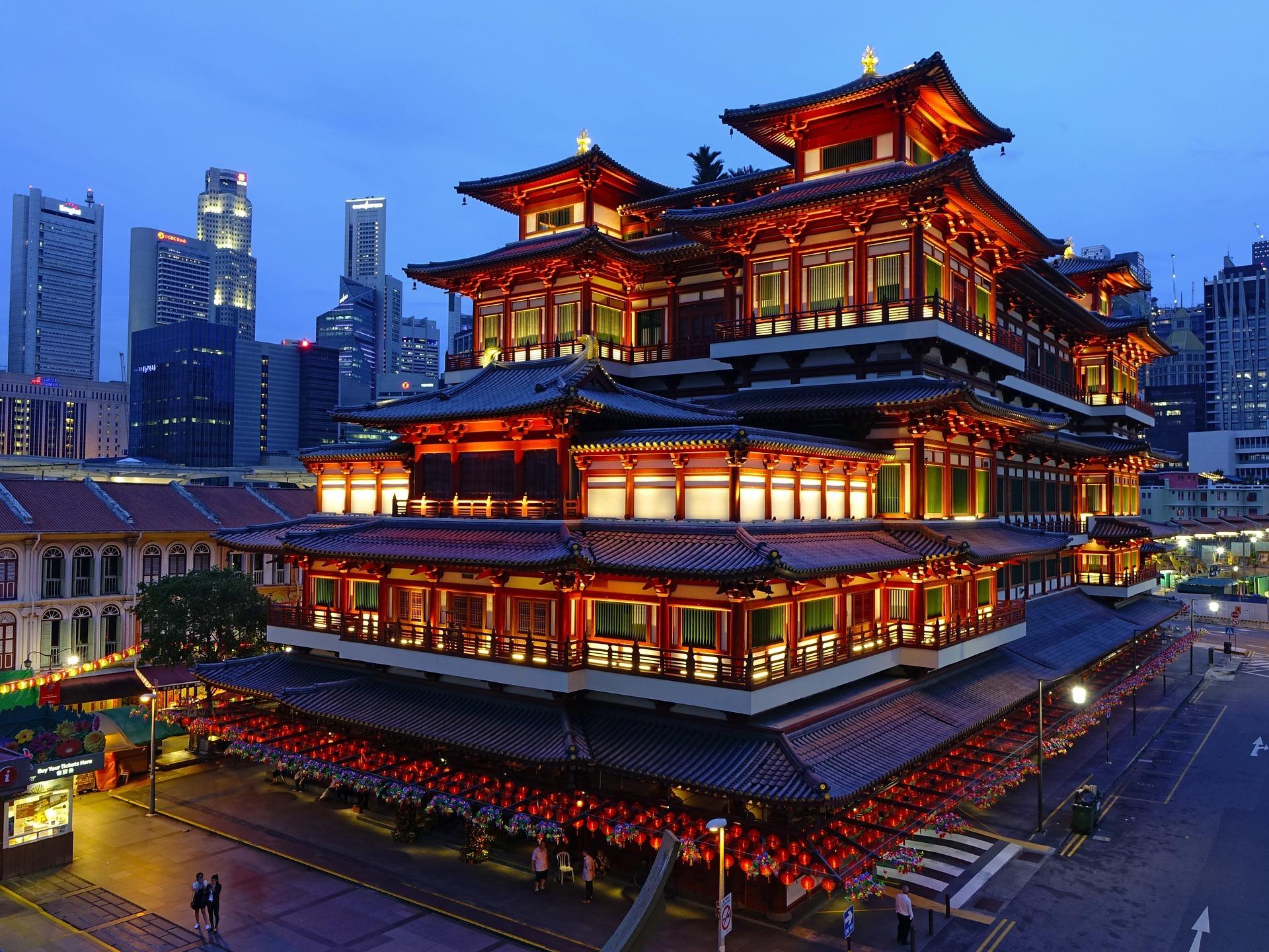 noćni sastanak Singapur